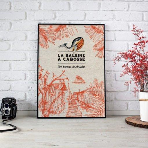 Affiche-Poster La Baleine à Cabosse - Le Village 1