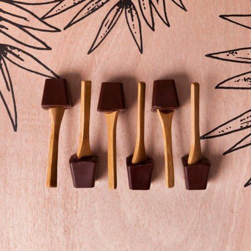 Coffret 6 cuillères à chocolat chaud 1