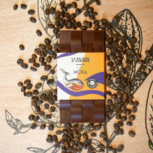 Tablette Chocolat noir & brisures de café 1