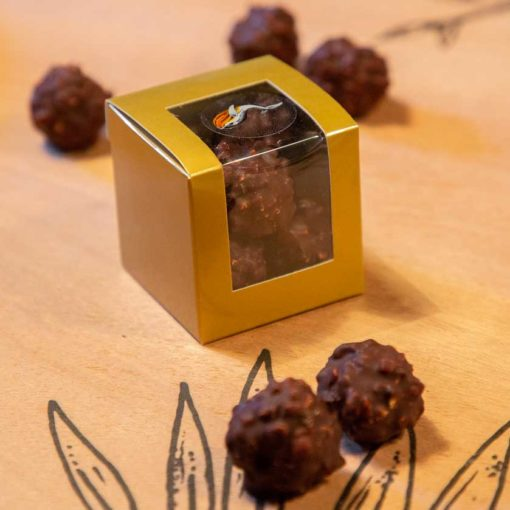 Rochers chocolat noir 1