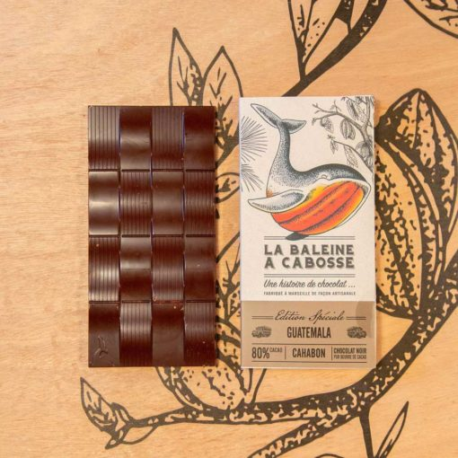 Tablette Guatemala Cahabon 80% 1