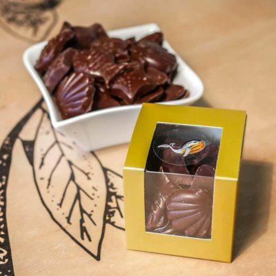 Boîte de friture de Pâques chocolat noir