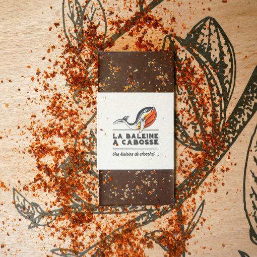 Tablette chocolat noir & piment d'Alep 1