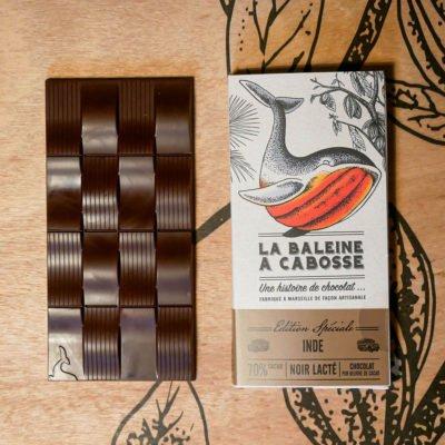 Tablette chocolat Inde Kerala