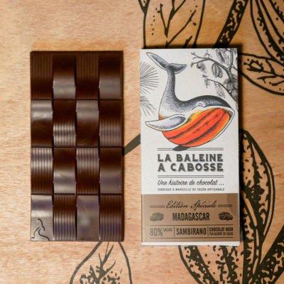 Tablette Chocolat Madagascar Sambirano