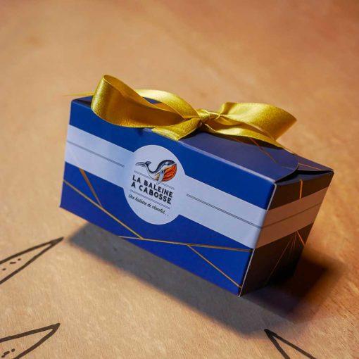 Marrons glacés enrobés de chocolat 6 pièces